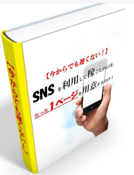 【今からでも遅くない!】SNSを利用して稼ぐためには、たった1ページを用意するだけ!